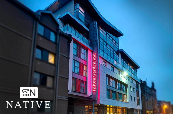Two courses or steaks at Hilton Garden Inn, City Centre