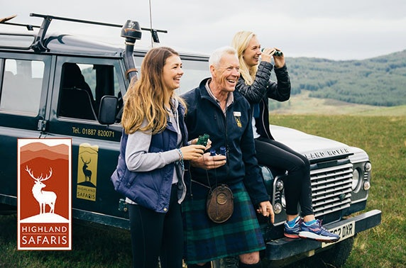 5* Highland Safaris in Aberfeldy