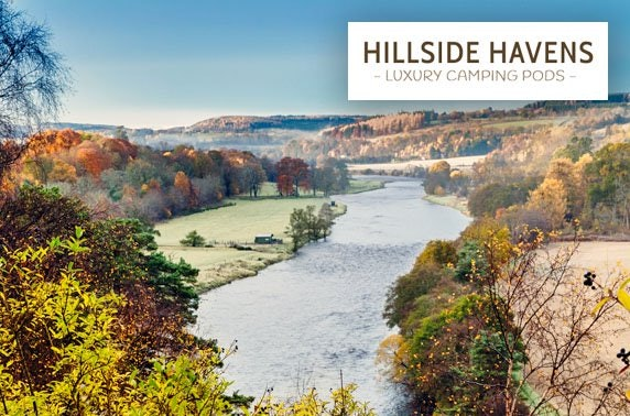 Luxury glamping at Hillside Havens