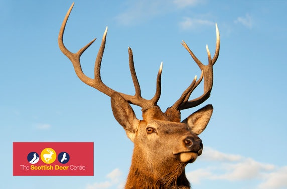 The Scottish Deer Centre - from £3.60pp