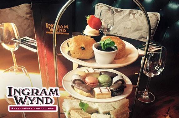Ingram Wynd afternoon tea, Merchant City
