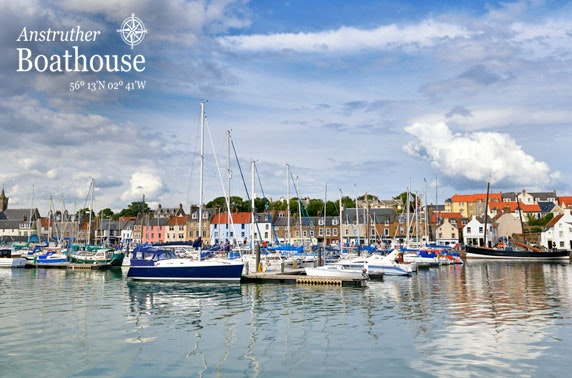 Picturesque village stay at The Anstruther Boathouse