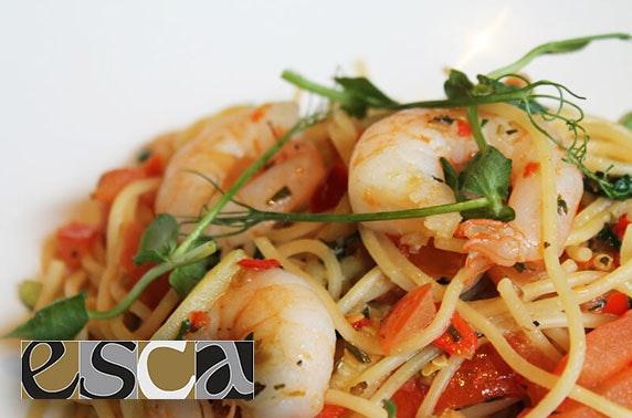 Esca Italian dining, Merchant City