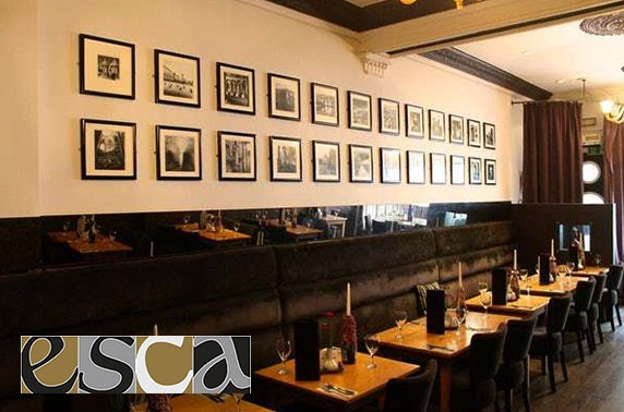 Esca Italian dining, Merchant City