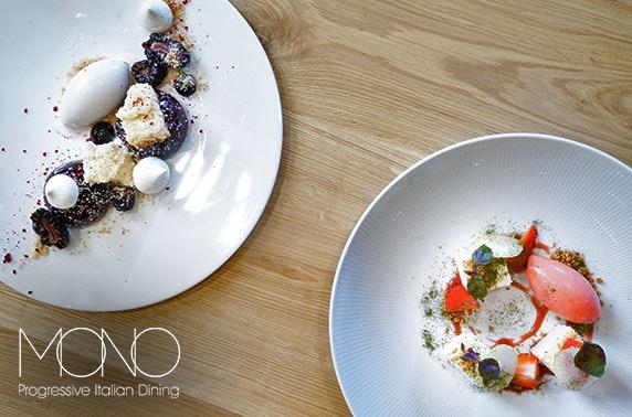 Mono 5 or 8 course fine dining, City Centre
