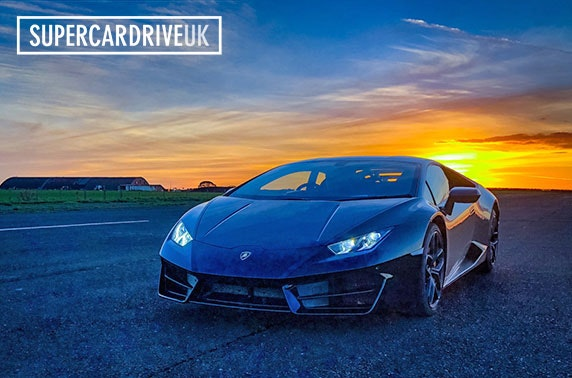 Supercar track driving experience; Carlisle or North Berwick