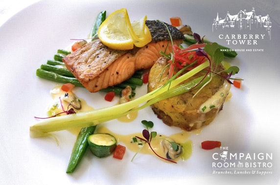 4* Carberry Tower dining