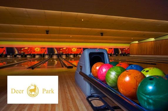 Ten pin bowling at Deer Park, Livingston