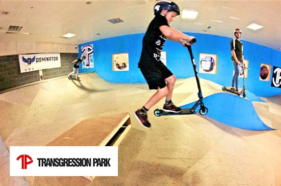 Transgression Skatepark at Ocean Terminal - from £4.25pp