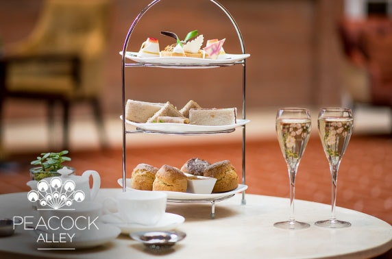 5* Waldorf Astoria luxury afternoon tea & drinks