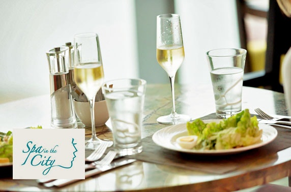 Spa treatments & lunch, City Centre