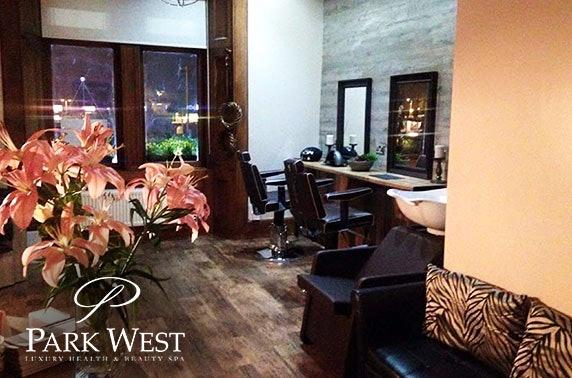 Beauty treatments at Park West Spa, Hamilton