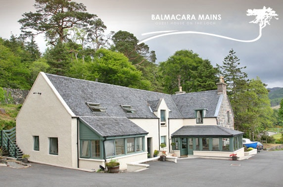 Balmacara Mains Guest House stay, nr Skye