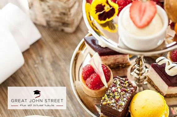 4* Great John Street afternoon tea