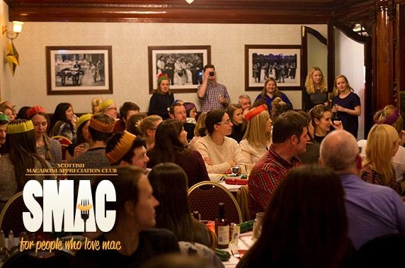 Christmac and Cheese  – Scottish Macaroni Appreciation Club, Sloans