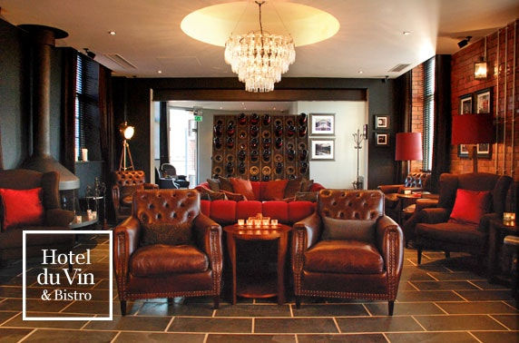 3 course dining & wine, Hotel du Vin Newcastle