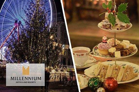 Millennium Hotel festive dining, George Square