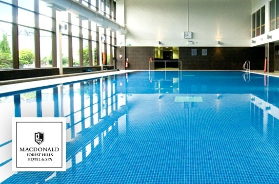 4* Macdonald Forest Hills spa day