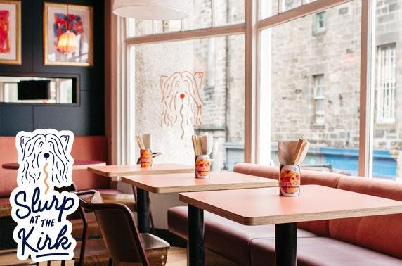 Slurp at the Kirk food & drink voucher