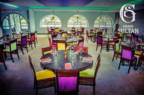Grand Sultan dining, Tynemouth