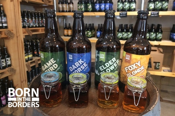 Born in the Borders brewery tour & tasting