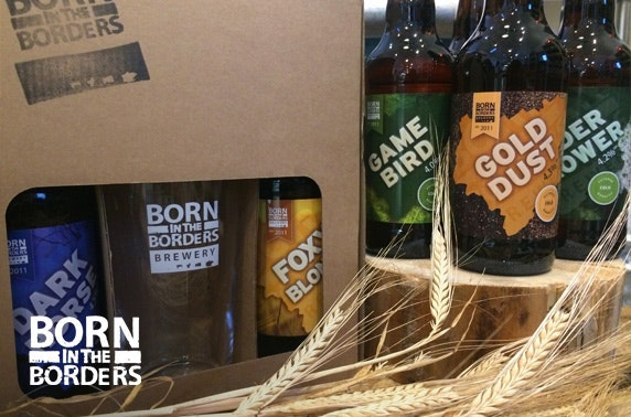 Born in the Borders brewery tour & brew school