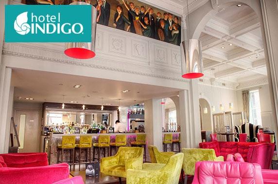 4* Hotel Indigo cocktails, City Centre