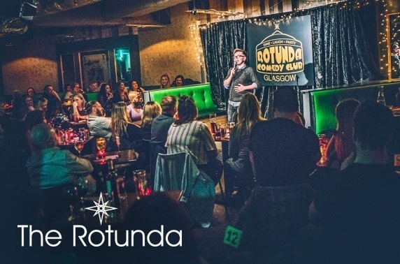Rotunda Comedy Club weekend tickets - from £4.50pp