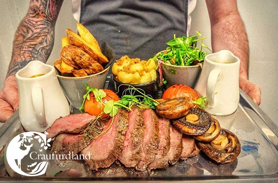 Chateaubriand & wine at The Laird's Table, Ayrshire