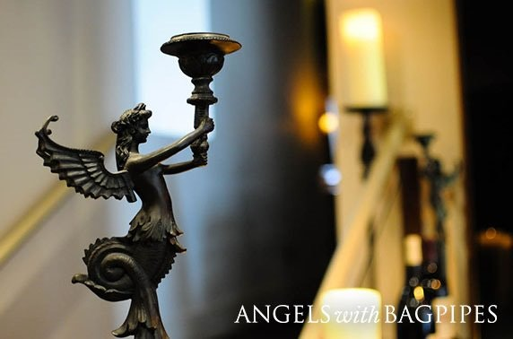 Michelin-recommended Angels with Bagpipes dining