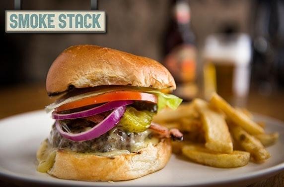 Smoke Stack burgers & wine