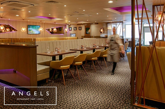 Recently-refurbished Angels Hotel DBB - £69