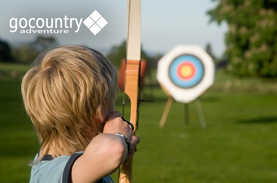 Go Country canoeing & archery
