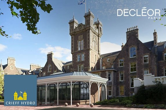 Crieff Hydro spa experience inc treatments - from £49pp