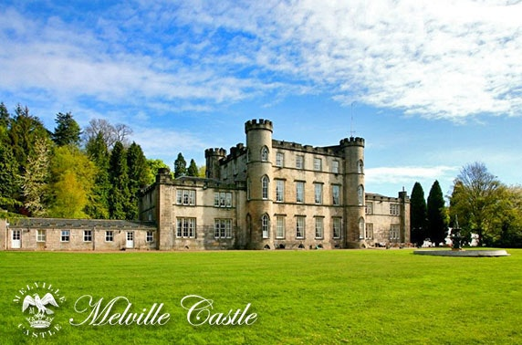 Melville Castle stay nr Edinburgh