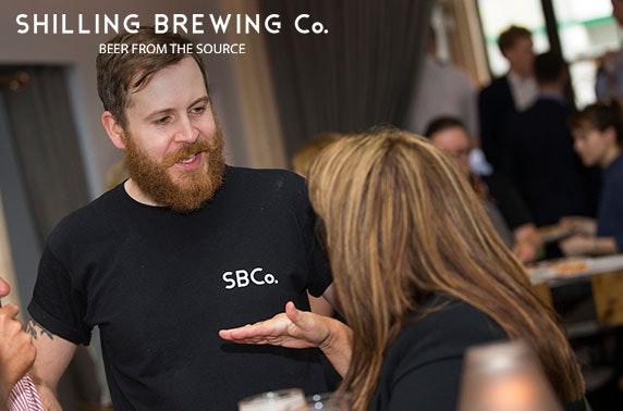 Shilling Brewing Company tour, City Centre
