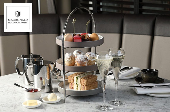 4* Macdonald Holyrood afternoon tea