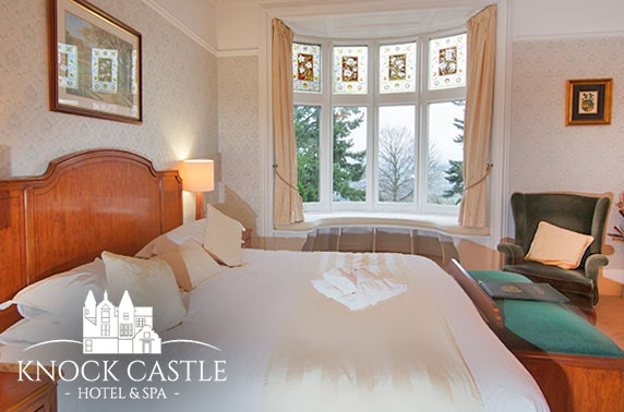 Award-winning Knock Castle Hotel and Spa escape, Perthshire
