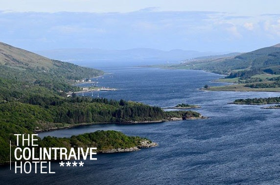 Idyllic escape on the beautiful Cowal Peninsula