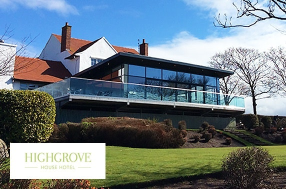 Highgrove House Hotel DBB, Troon - valid 7 days