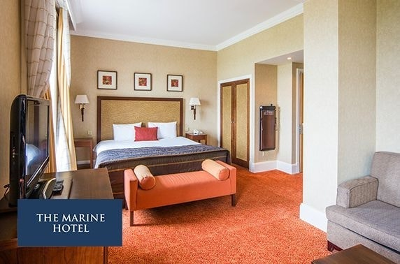 4* Marine Hotel DBB stay or spa break, Troon