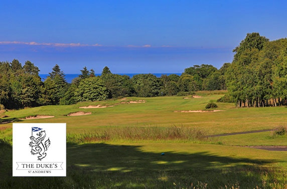 Golf at The Duke's St Andrews