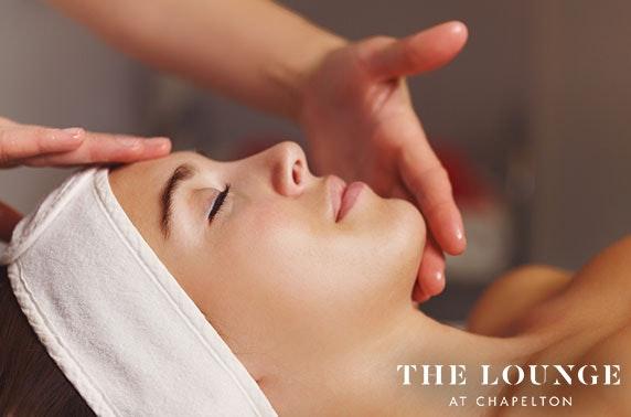 The Lounge facial & massage treatments
