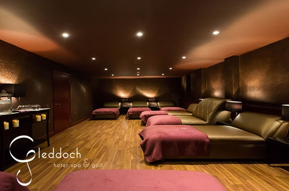 4* Gleddoch Hotel stay with spa access