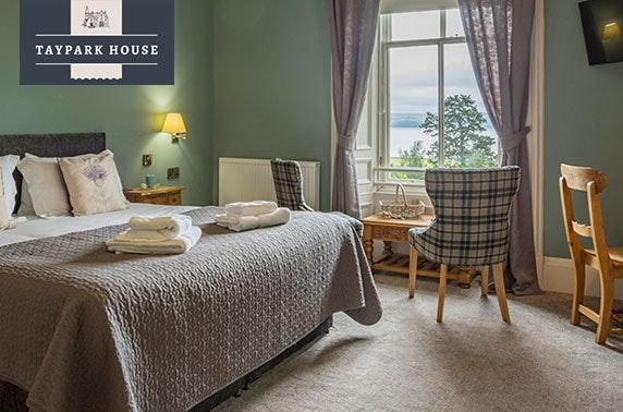 4* award-winning Taypark House, Dundee - valid 7 days