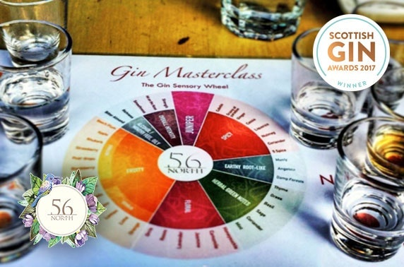 56 North gin tastings