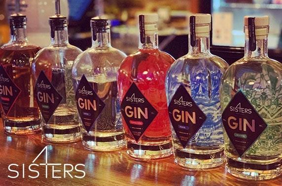 Four Sis4ers Gin & tasting tour