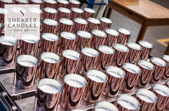 Shearer Candles – factory tour & candle-making workshop