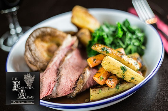 Sunday lunch at The Farmers Arms