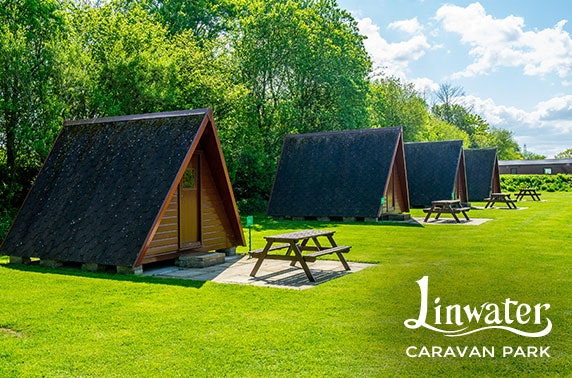 4* West Lothian glamping - less than £7pppn